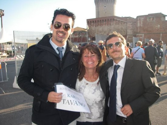 Rome Driving Tours : Me with Luca and Max