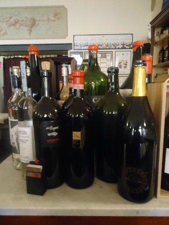 Cantina Bentivoglio: vinhos na cantina