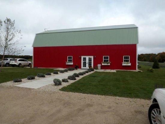 Fragrant Isle Lavender Farm & Shop: The Big Red Barn full of luscious fragrances.