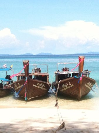 Andaman Camp and Day Cruise : Andaman Camp and Cruise  - luxury long tails!