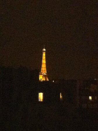 Hotel de Banville : View from our room