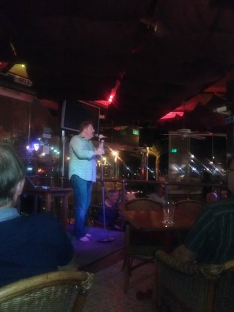 Old Navy Restaurant and Bar: Entertainment by Declan Ryan