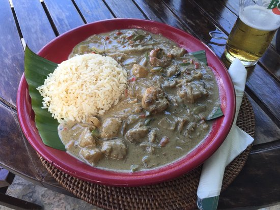Balicana: Thai Green Seafood Curry