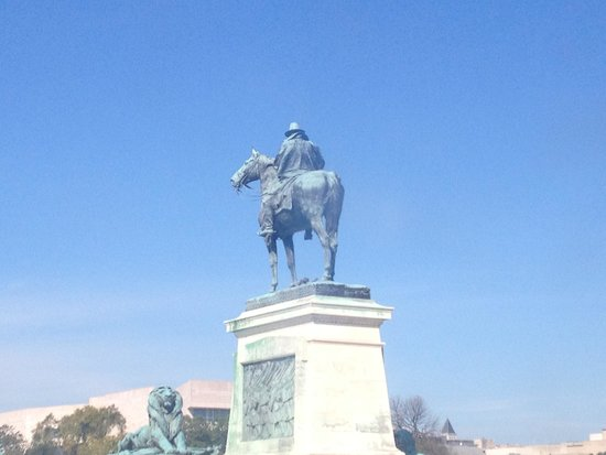 Ulysses S. Grant Memorial: View from other side
