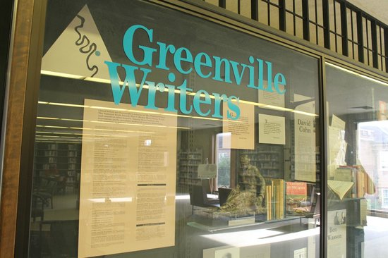 Greenville Writers Exhibit