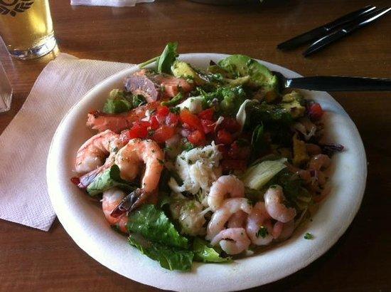 El Pescador Fish Market: El Pescador salad!  Yummy!!!