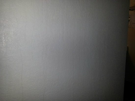 Super 8 by Wyndham Fredericksburg: More stains on another wall