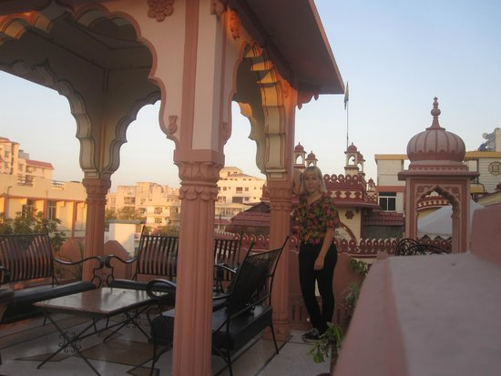 Sajjan Niwas: En el rooftop