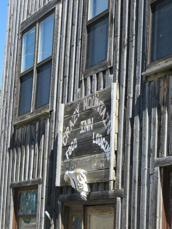 Martinsdale, Μοντάνα: Front of Restaurant