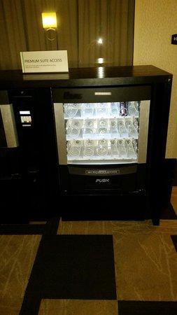Embassy Suites by Hilton Atlanta - Buckhead: Vending machine on premium floor always empty