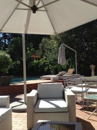Little Tuscany Boutique Hotel: Perfect for reading