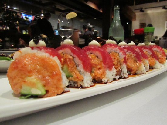 Sansei sushi picture of sansei seafood restaurant for Asian cuisine maui