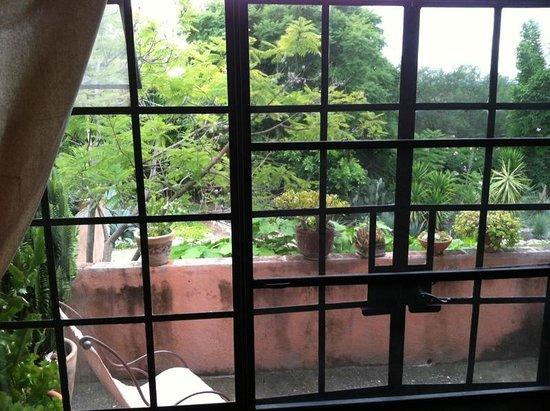 Hacienda Las Trancas: view from Hidalgo suite