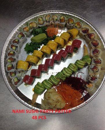 Nami Sushi: nami party platter 48 pcs