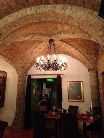 Post Hotel Weggis: Enoteca