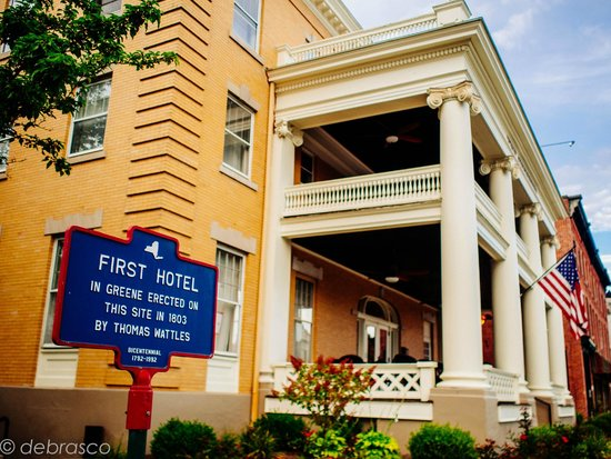 The Sherwood Hotel: View of historical significance of the hotel.