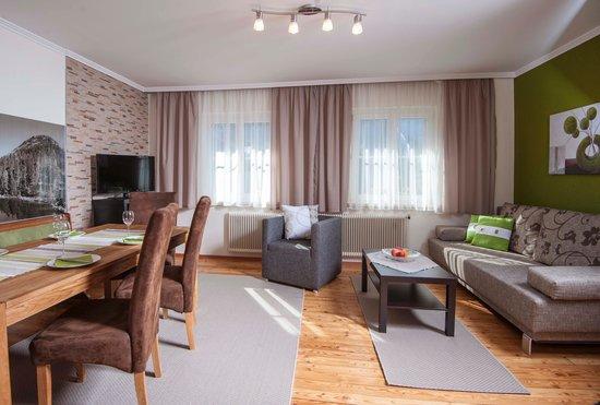 wohnzimmer großes appartement - picture of ferienhaus antonia