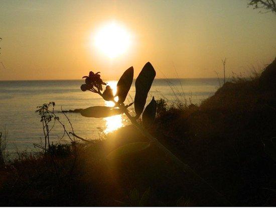 Bali Spark Resort: Sonnenaufgang vom Hotel aus