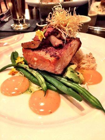Wild Sage American Bistro: King Salmon