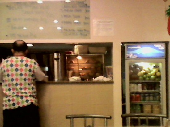 Quik Snack Restaurant: The counter where food is released looks clean but again, it depends on staff.