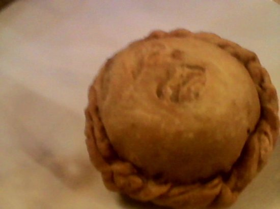 Quik Snack Restaurant: There's a delight inside this pastry. Definitely worth it and good with hot sauce.