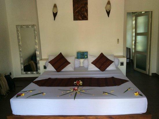 Danima Resort & Restaurant : Camera vista piscina
