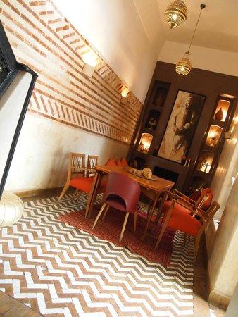 Riad Magellan: Dining-room