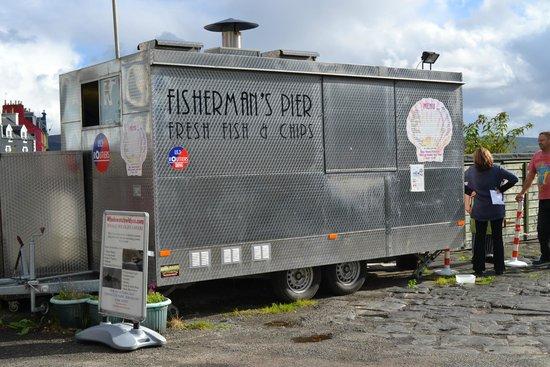 Fishermans Pier Fish & Chip Van : The van