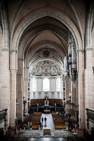 St. Peter's Cathedral (Dom) : St Peter's Trier interior