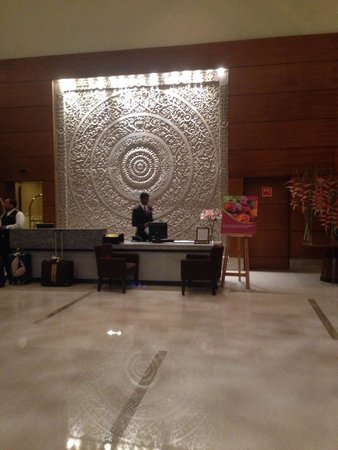 Crowne Plaza Hotel Gurgaon: Lobby