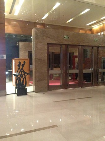 Crowne Plaza Hotel Gurgaon: Entrance