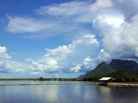Khao Sam Roi Yot National Park: ท้องฟ้าและนาลุ่ม