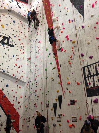 Awesome Walls Climbing Centre: Auto Belay Climbing