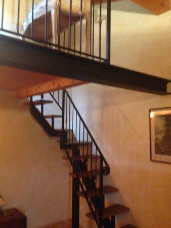 Cascina Ronchi: Room with mezzanine