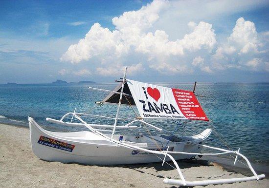 I Love Zamba Boat Picture Of Crystal Beach Resort San