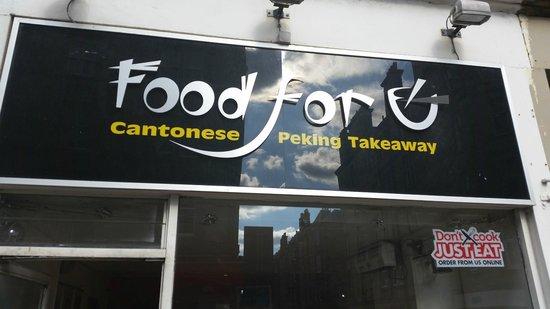 Food For U Edinburgh Menu Prices Restaurant Reviews