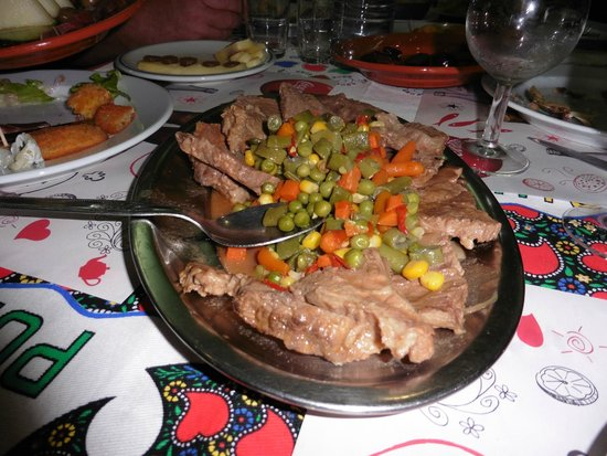 We Hate Tourism Tours: veal dinner on the food tour