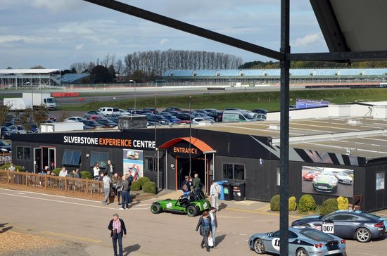 Silverstone Challenge - Silverstone Experience: View from the stands