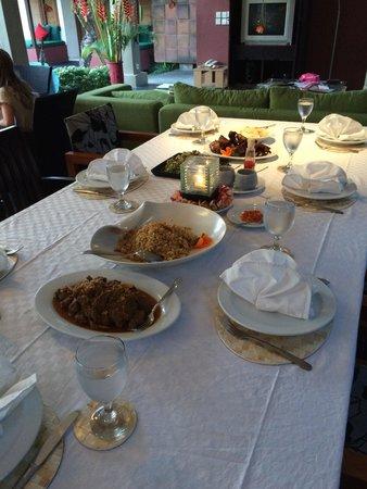 Imani Villas: The food was amazing