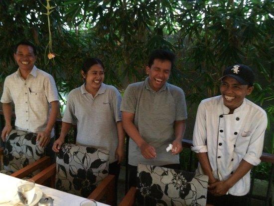 Imani Villas: The staff are warm and friendly