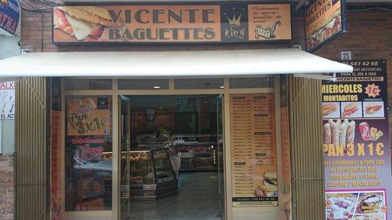 Vicente baguettes king