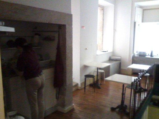 Salitre Hostel: ZONA COMÚN