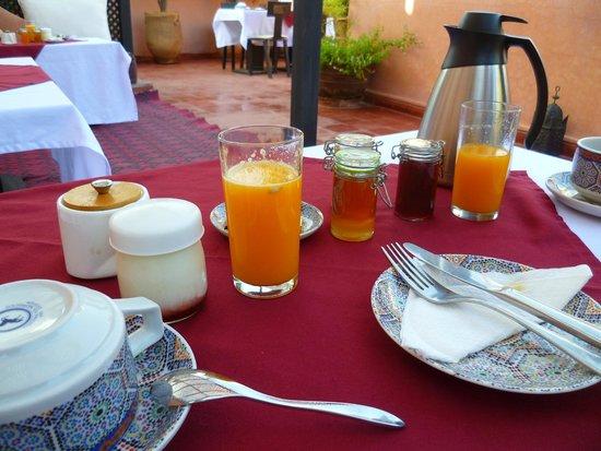 Riad Samsli : Wonderful breakfast