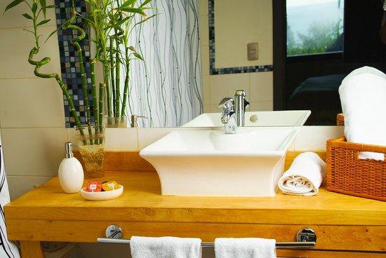 Casa Kalfu : Detalle baño