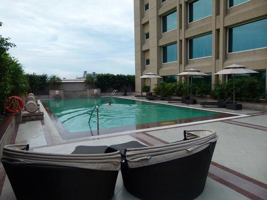View From Hotel Picture Of Holiday Inn Amritsar Ranjit Avenue Amritsar Tripadvisor