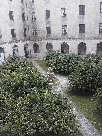 Hospederia Monasterio De Poio: esta es la vista desde nuestra habitacio