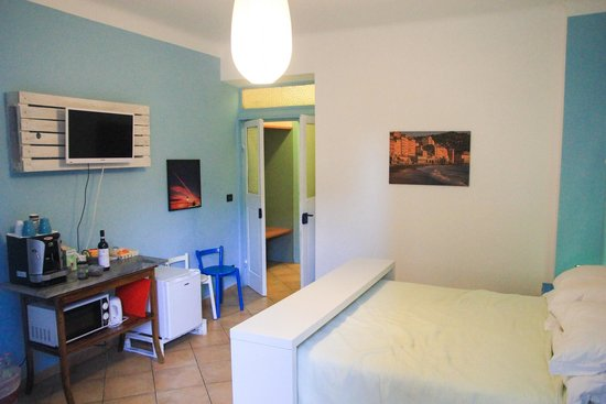Soffio Di Mare: Great room with coffee machine