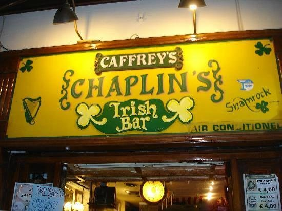 Chaplin's Pub : chaplin's irish bar