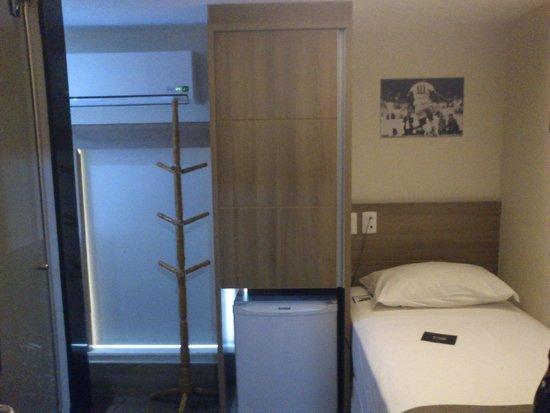 Hotel 1900 : Apartamento single