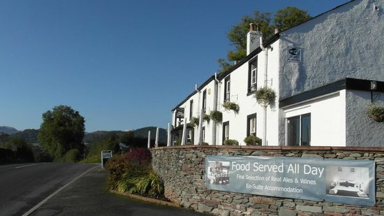 Brackenrigg Inn: Nice in the sunshine